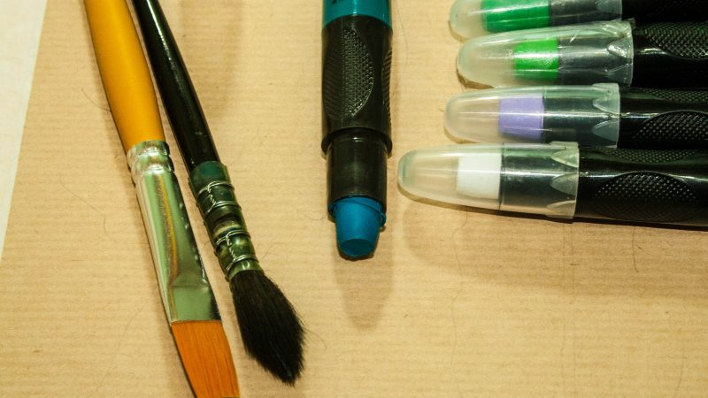 Test : Le crayon Aquarellable Art-Crayon Mixed Média