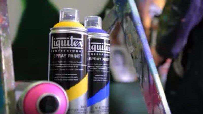 Test : la bombe de peinture acrylique LIQUITEX PROFESSIONNAL