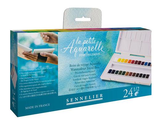 La petite Aquarelle Test nouvelle boîte de voyage SENNELIER