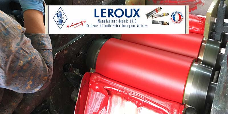 Les couleurs LEROUX – Histoire et Test