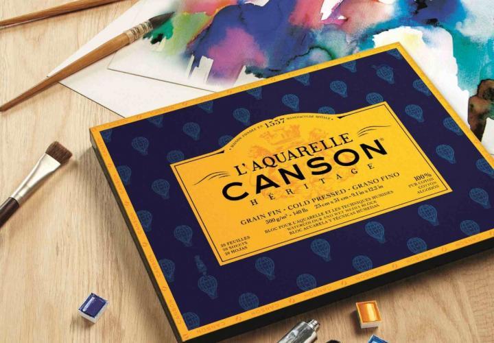 Test : Papier aquarelle l'Héritage CANSON