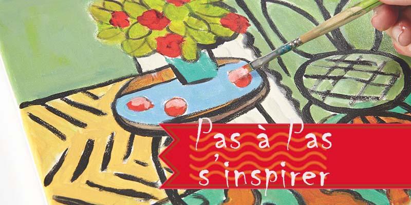 Comment s'inspirer de nos ancêtres les artistes en Pas à pas