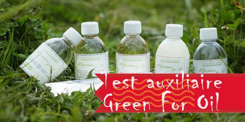 Test : Green for oil de Sennelier